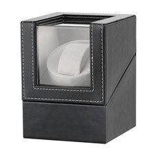 Black US/UK/AU/EU Plug Watch Winder Motor Shaker Holder Box Automatic Watches Storage Mechanical Self Winding Boxes