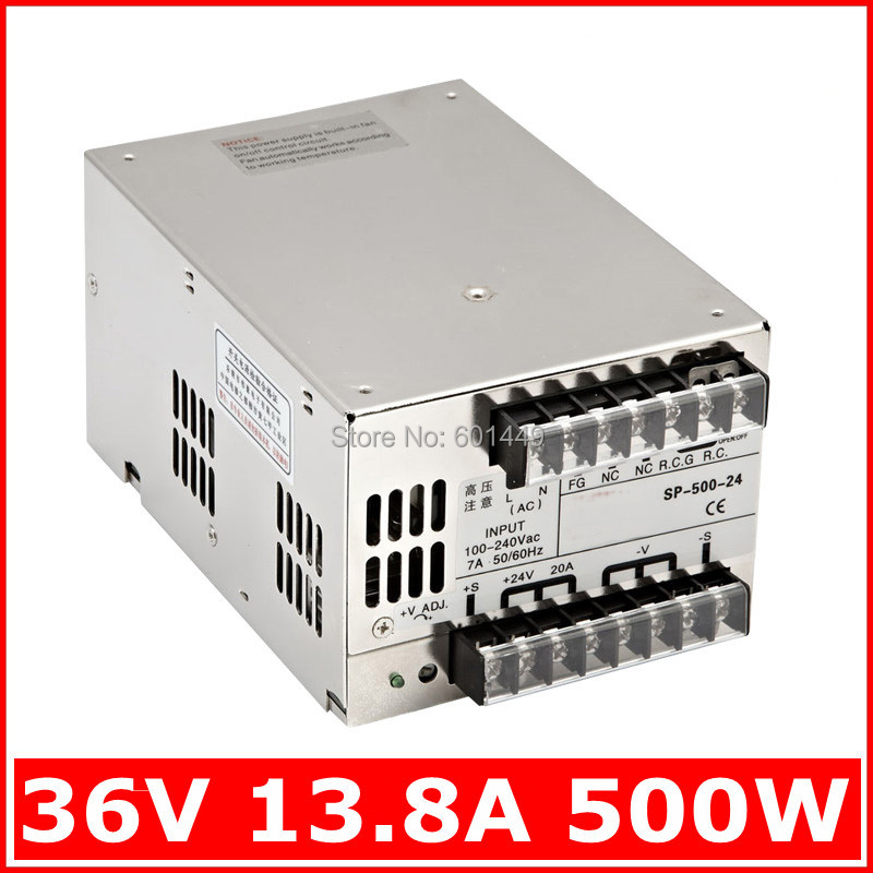 Electrical Equipment & Supplies> Power Supplies> Switching Power Supply> S single output series>SP-500W-36V