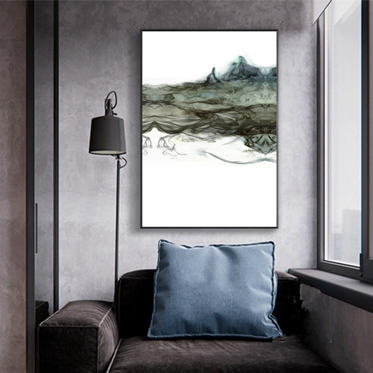 Σύγχρονη αφηρημένη ζωγραφική - Διακόσμηση σπιτιού - Φωτογραφία 4
