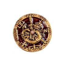Environmental protection Imitation enamel gold 3D coin