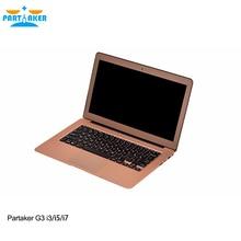 Соучастником g3 ноутбуков 13.3 дюймов intel core i3 5005u 4 г ram 128 г ssd компьютер