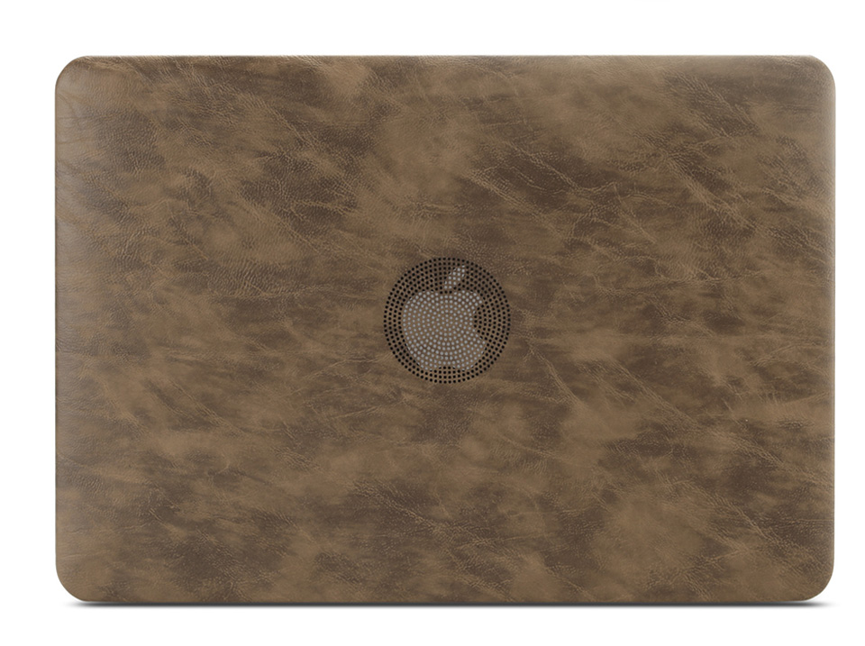 PU leather Hard Case for MacBook 16