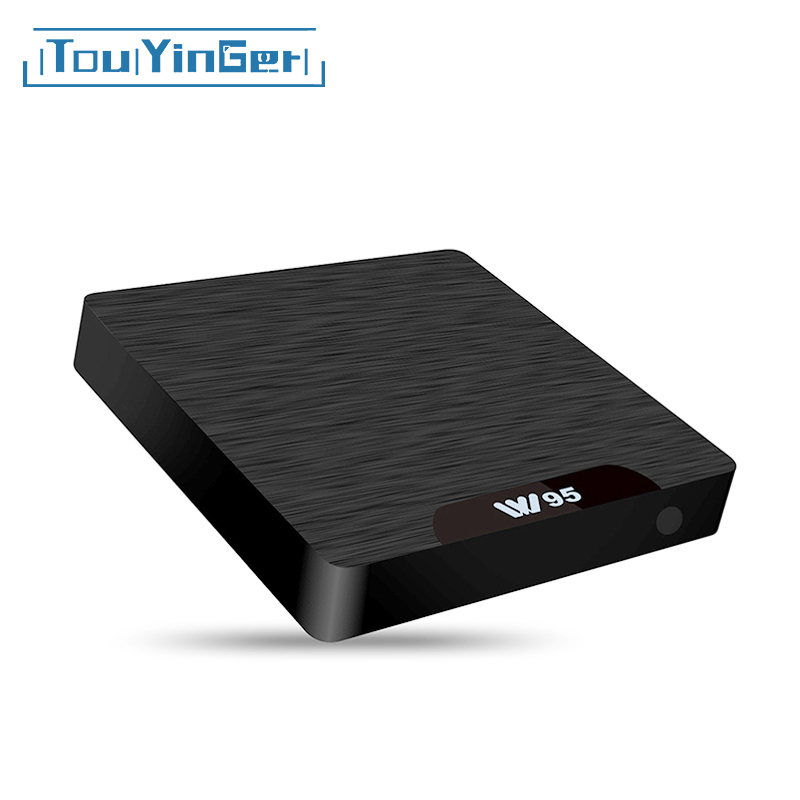 Touyinger Wifi-Lan W95 Media-Player Set-Top-Box S905W Mini Pc Quad-Core Android H.265