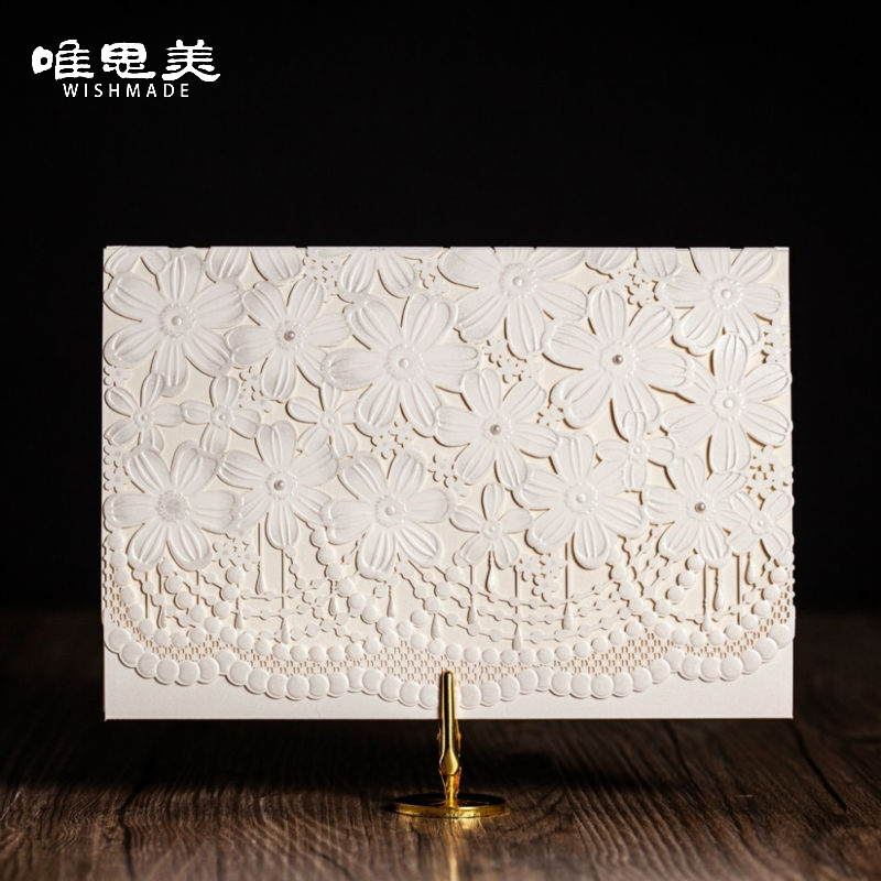 Floral Wedding Card Manufacturer From Hosur: Aliexpress.com : Buy Wishmade 12pcs/lot Lace Floral