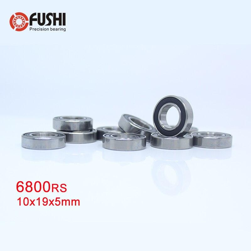 6800 2rs Bearing 10 19 5 Mm 10 Pcs Abec 1 Metric Thin