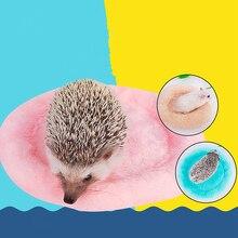 [MPK Store] Мягкая флисовая кровать Шиншилла, кровать белка, кровать Африканский Ежик