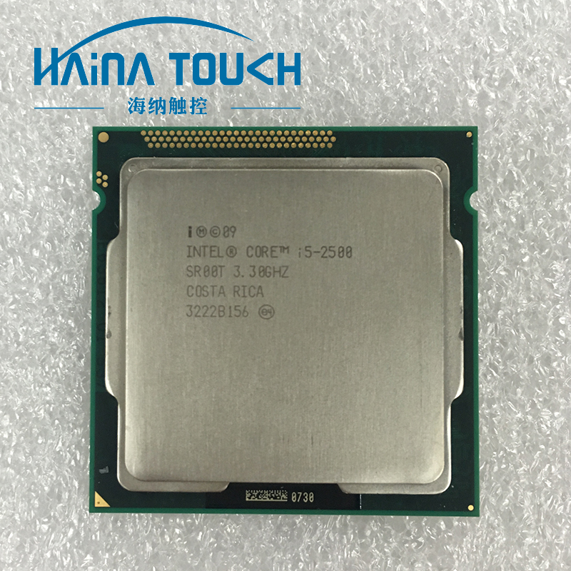 100% Original Intel Core i5 2500 Processor 3.3GHz 6M Socket 1155 100% Working lntel i5-2500 CPU