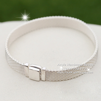 Fashion Jewelry S925 Sterling Silver Reflexions Bracelet For DIY Reflexions Charm Bead
