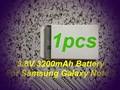 1pcs True Rechargeable Battery B800BC 3200mAh For Samsung Galaxy Note 3 N9000 N9002 N9005 N9006 N9008 N9009 Batteries