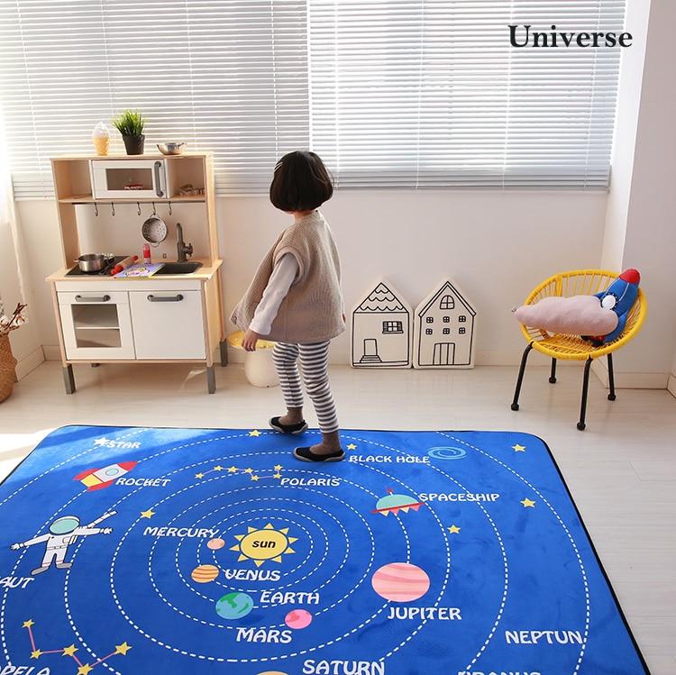 HTB1a9CjLwHqK1RjSZFEq6AGMXXak Baby Shining Mat 1.5CM(0.6in) Thickness Children Play Mat Velvet Carpet 150*200CM(60*78.7in) Baby Crawling Mat Non-slip