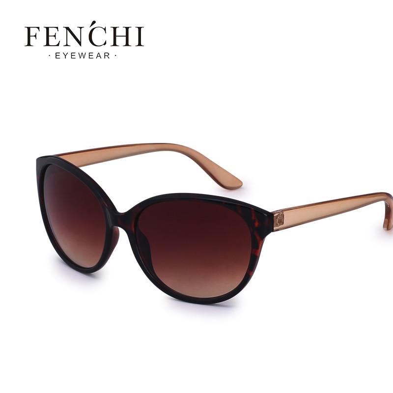 FENCHI-lunettes de soleil œil de chat vintage | lunettes de soleil femmes de styliste, tendance rétro lunettes de soleil ombres pour femmes