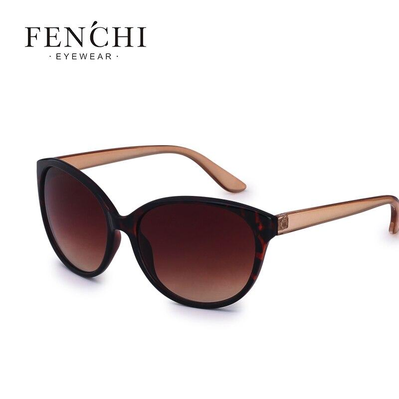 FENCHI, gafas de sol para mujer, marca de diseñador, gafas de sol vintage de ojo de gato, gafas de sol retro a la moda, gafas de sol para mujer, gafas de sol