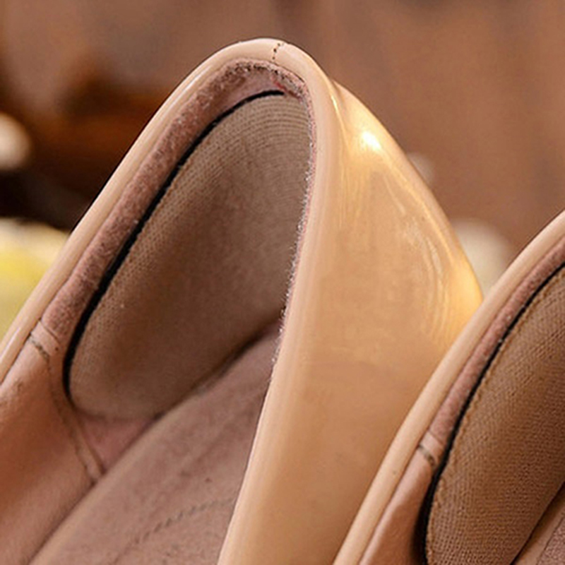 5Pairs Elastic Heel Liner Sticky Sponge Inserts Silicone Heel Support Pad Cushions For Shoes Inserts Insole High Heels Cushion