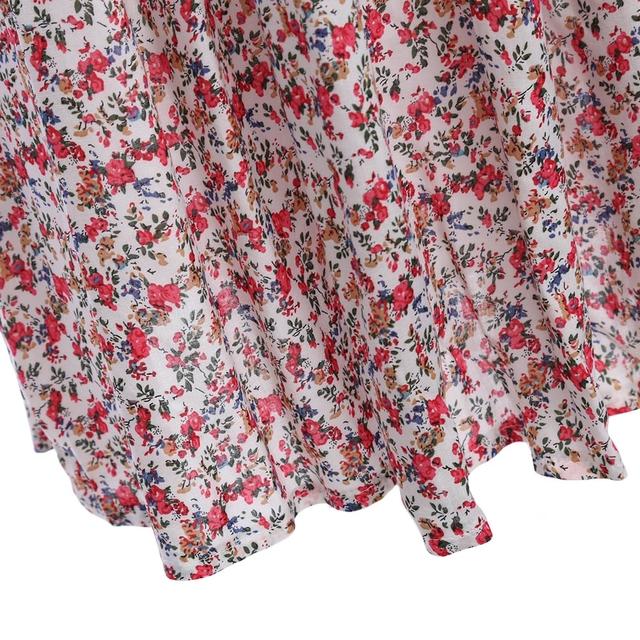 Women's Long Dresses with Floral Prints