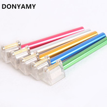 DONYAMY Durable DIY Brass Head Leather Edge Pen Top Pro Edge Dye Pen Applicator Speedy Edge Paint Roller Tool For Leather Craft