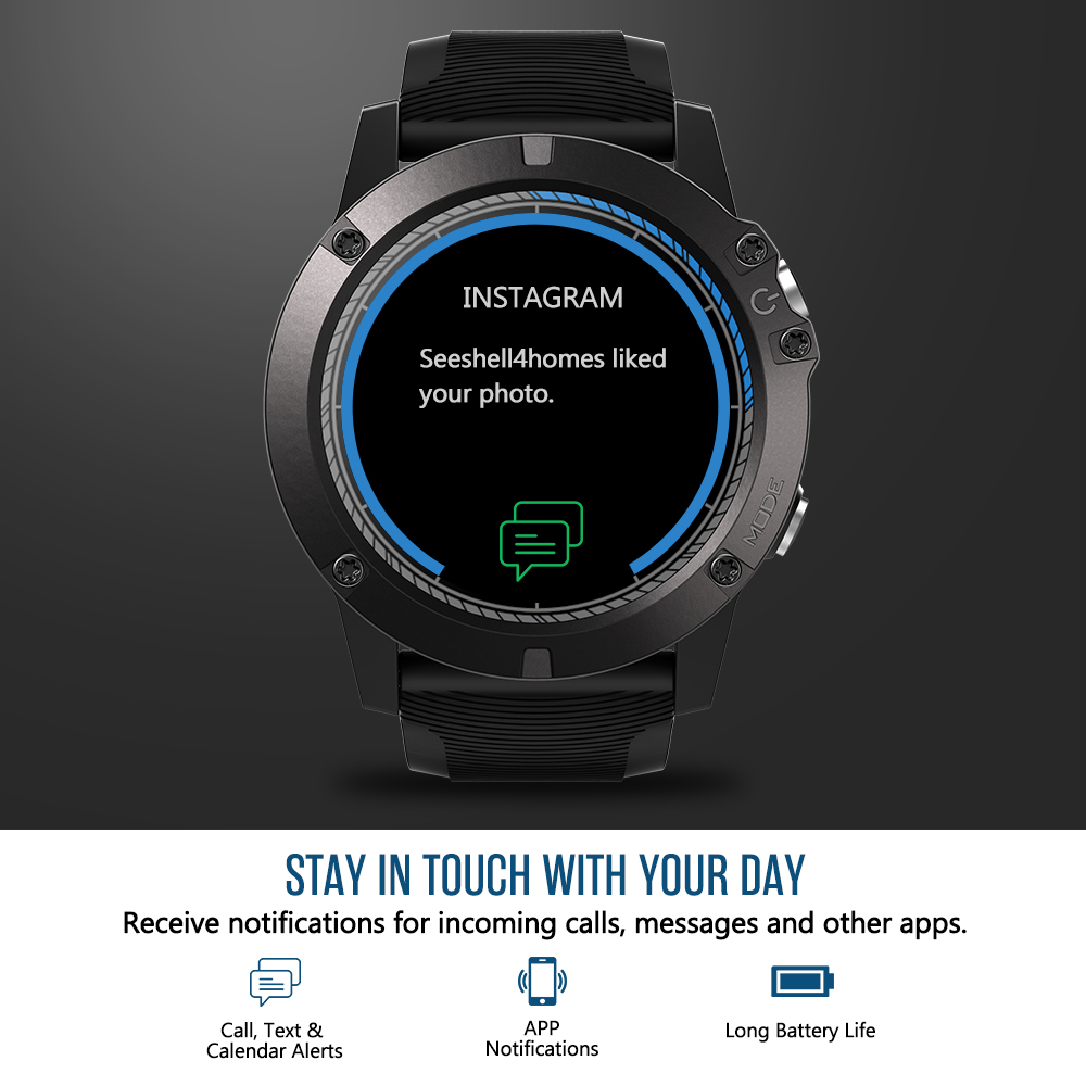 Zeblaze VIBE 3 PRO Color Touch Display Sports Smartwatch PPG Heart Rate Waterproof Weather Smart Watch Men For All Smart Phone Pakistan