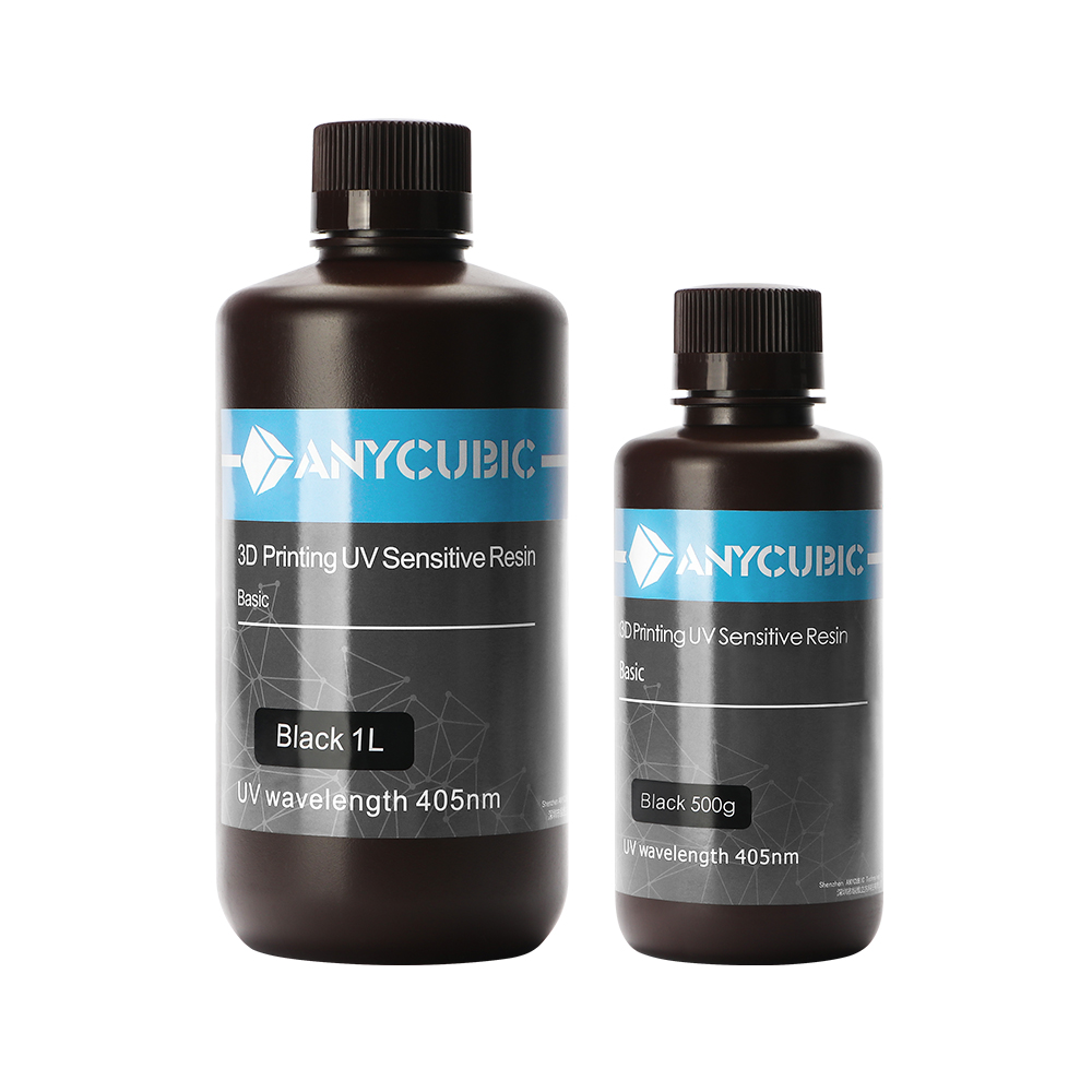 1L 2L 3L ANYCUBIC 405nm UV Resin Printing Material For 3D Printer Photon LCD UV Sensitive