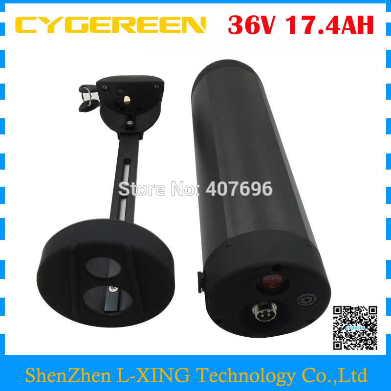 Free customs duty 36V Water Bottle battery 36V 17.4AH lithium ion Electric Bike battery use NCR PF 2900mah cell 15A BMS Free customs duty 36V Water Bottle battery 36V 17.4AH lithium ion Electric Bike battery use NCR PF 2900mah cell 15A BMS