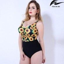 hot New push up one piece swimsuit women plus size swimwear Russian swimming suit large big size beachwear