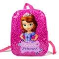 IVI Niños princesa sofia bolsas encantadora bolsitas de dibujos animados marca kids sofia Niños mochila bolso del Estudiante de escuela para niñas