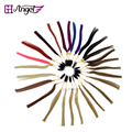 Angels 1pc 100% Human Hair 27 Colors Color Ring/Color Chart Swatch Rings for Remy Hair Extensions Hair Factory Costomized design