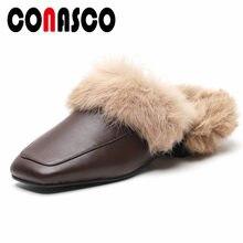 17db07fb0 CONASCO/модные брендовые женские туфли-лодочки с ремешком на пятке на  высоком каблуке с