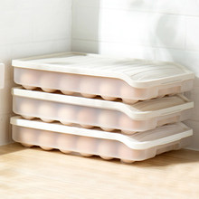 Kitchen Refrigerator Finishing Box Egg Plastic Household Rack Tray Food Storage