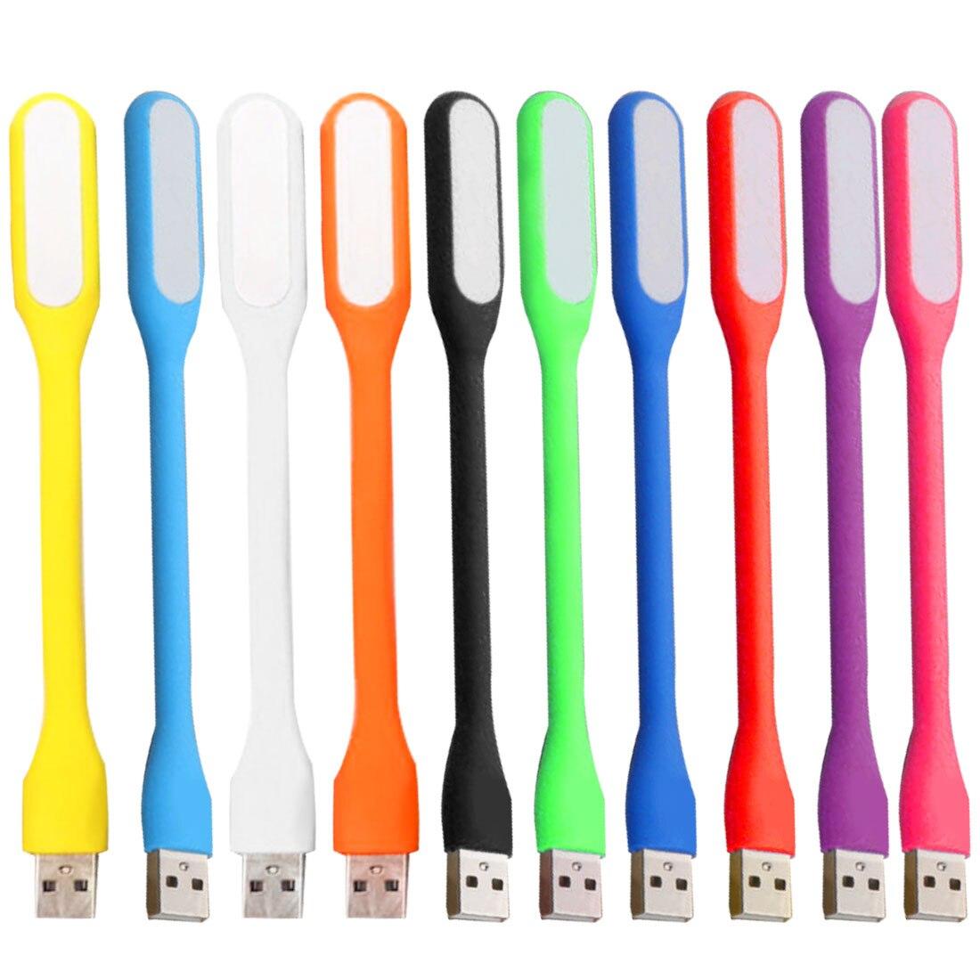 Mini Table Lamp Reading Book Light Gadgets Flexible USB Led Night Lights USB Eye Hand Lamp For Power PC Laptop Notebook