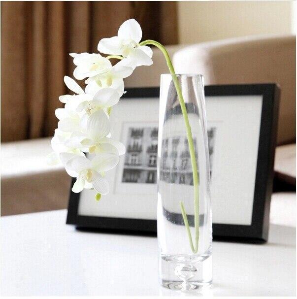 100 шт. фаленопсис шелк маленький цветок орхидеи искусственные цветы Свадебная вечеринка поддельные цветок - Цвет: 100pcs White