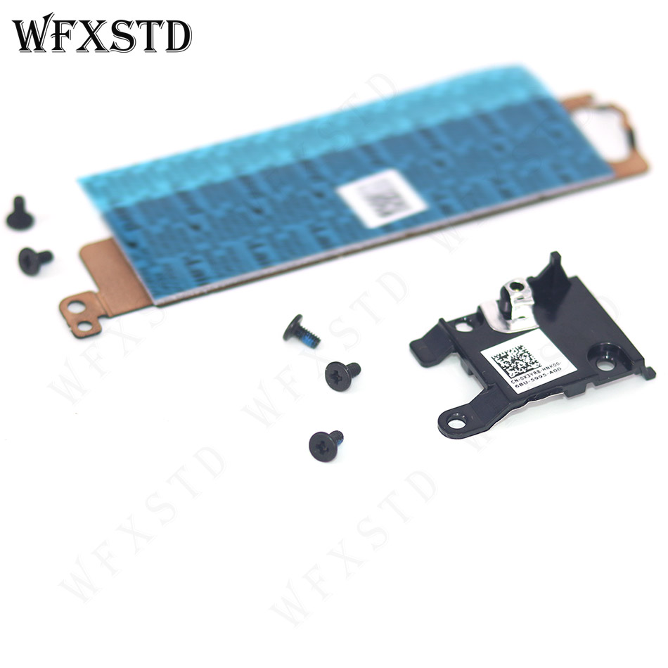 NEW  Bracket Cooling Plate For Dell Latitude E5470 5570 Precision 3510 M.2 0X3YR8 X3YR8 01X2MT 1X2MT With Support Cover Screws 2