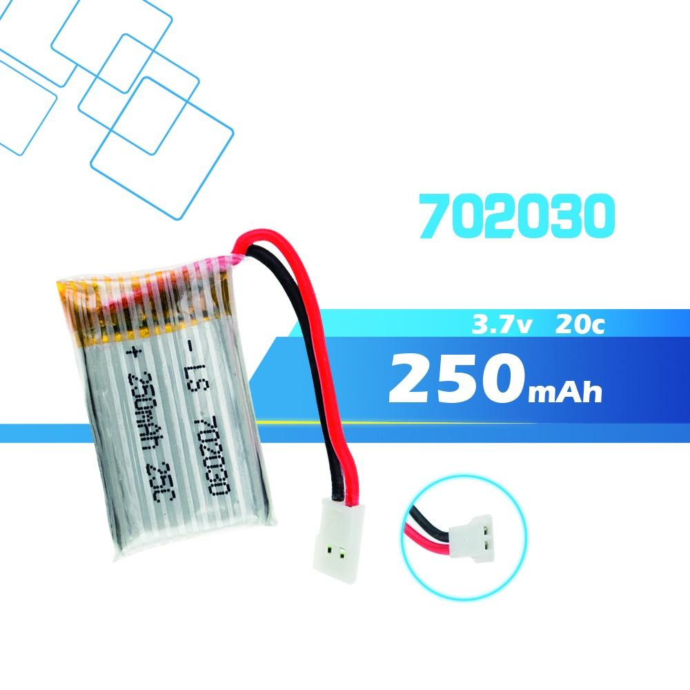 3.7V-702030-250mah