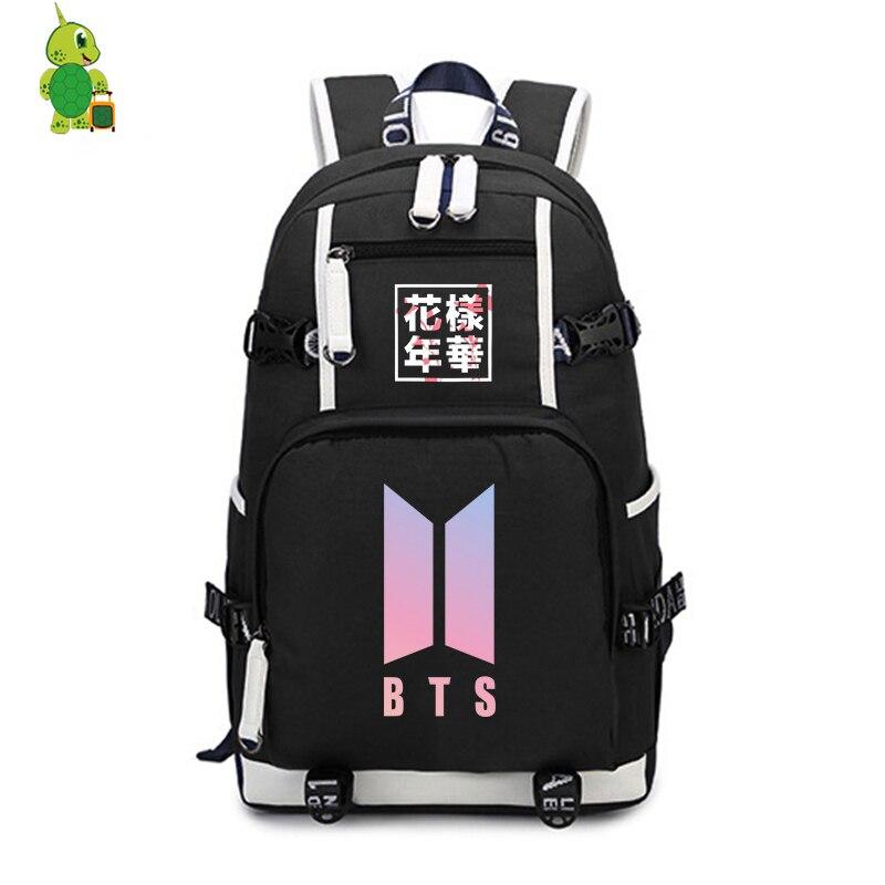 Kpop Bts Bangtan Boys In The Mood For Love Backpack Teens Students School Bags Rap Monster V Suga Backpack Fashion Travel Bags