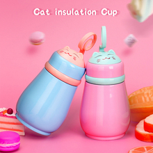 Creative Vacuum Flasks Home Kitchen Thermos Bottle Belly Cup 260ml Insulated Tumbler For Car Coffee Mug Lid Has Storage Space