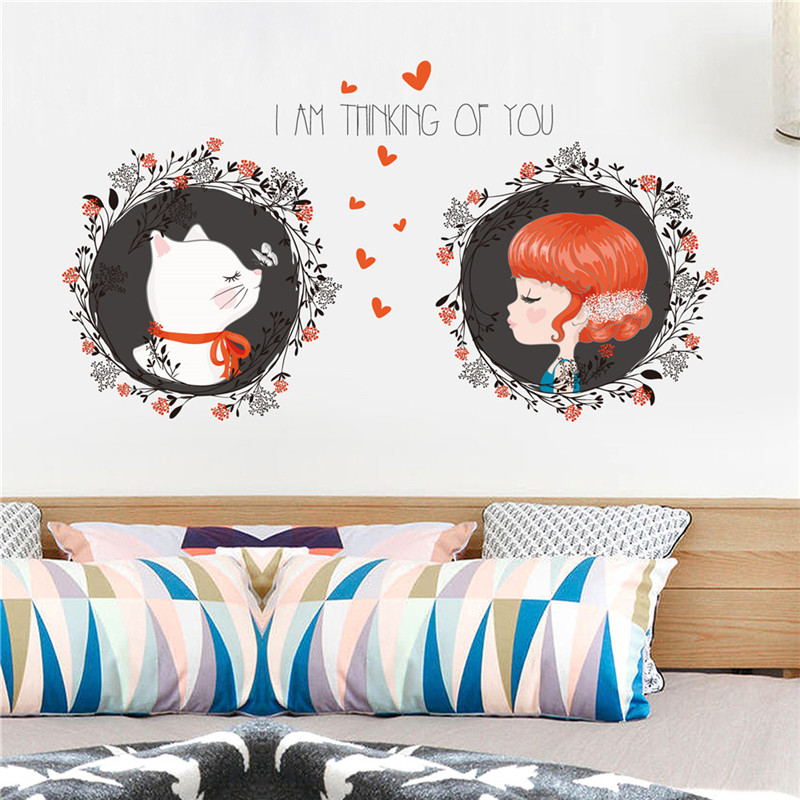 2018 Hot! DIY Cartoon House Removable Wall Decal Family Home Sticker Mural Art Home Decor Children's Room
