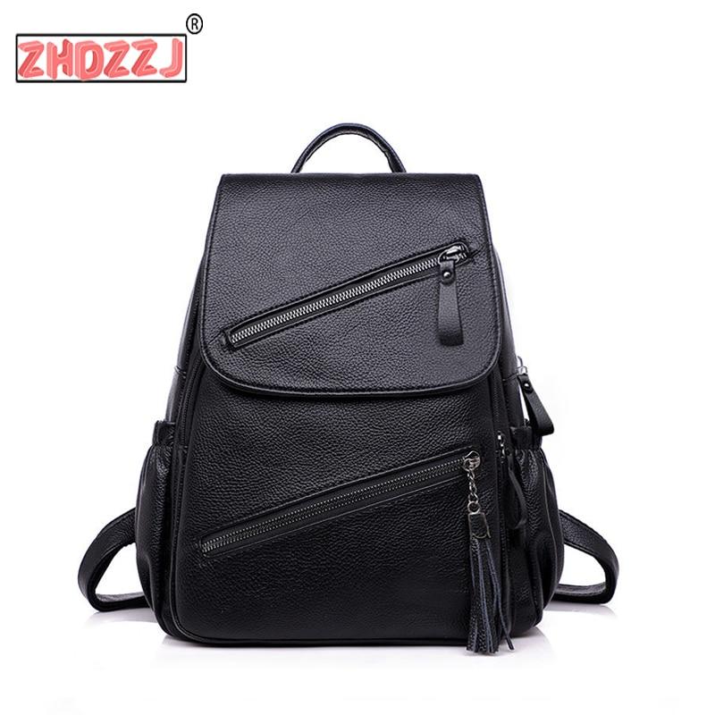 Women Backpacks Designer Leather Women Bag Fashion School Bags for Teenagers Girls Large Capacity Backpacks Travel Bags Mochila