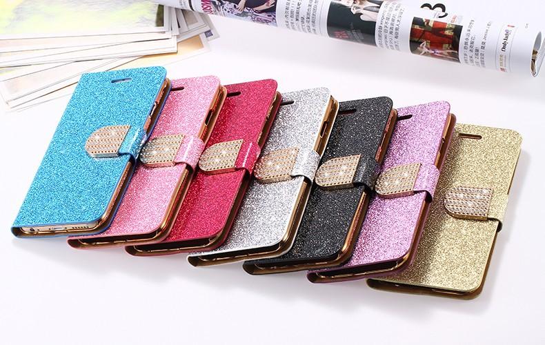 Kisscase dla iphone 5s case glitter bling skórzane etui dla iphone 5 5s se 6 6 s 7 plus stań portfel pokrywa dla iphone 7 7 plus SE 27