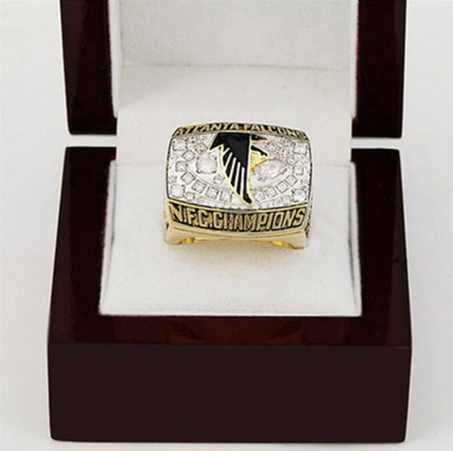 6c20b270a Wholesale N.F.C Brass 1998 Atlanta Falcons Replica Copper High Quality  sports world Championship Ring with Gorgeous