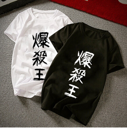 New Boku no hero academia T-Shirt  Fashion Anime My Hero Academia T Shirt cotton Short Sleeve Tops Tee