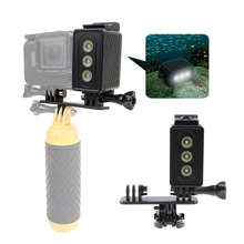 30m Camera Underwater Diving LED Lamp Video Light Waterproof LED Lights For Gopro Hero 4 Action Sports Camcorder