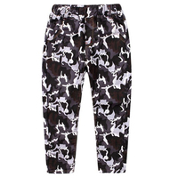 boys girls kids pants soldiers camouflage long trousers standing wear loose comfortable ease