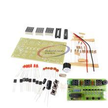 C51 Digital Electronic Clock Suite DIY Kit Six 6 Bits Electronic