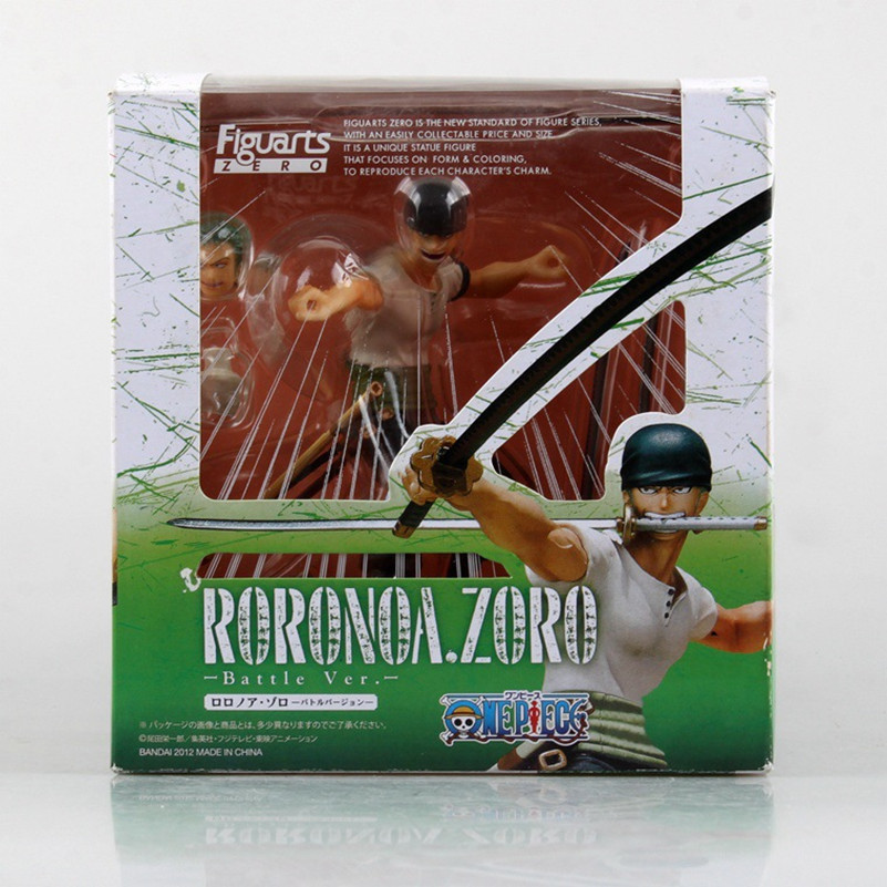 One Piece Roronoa Zoro PVC Doll Action Figure Model Toy 12cm With Box kunai pet