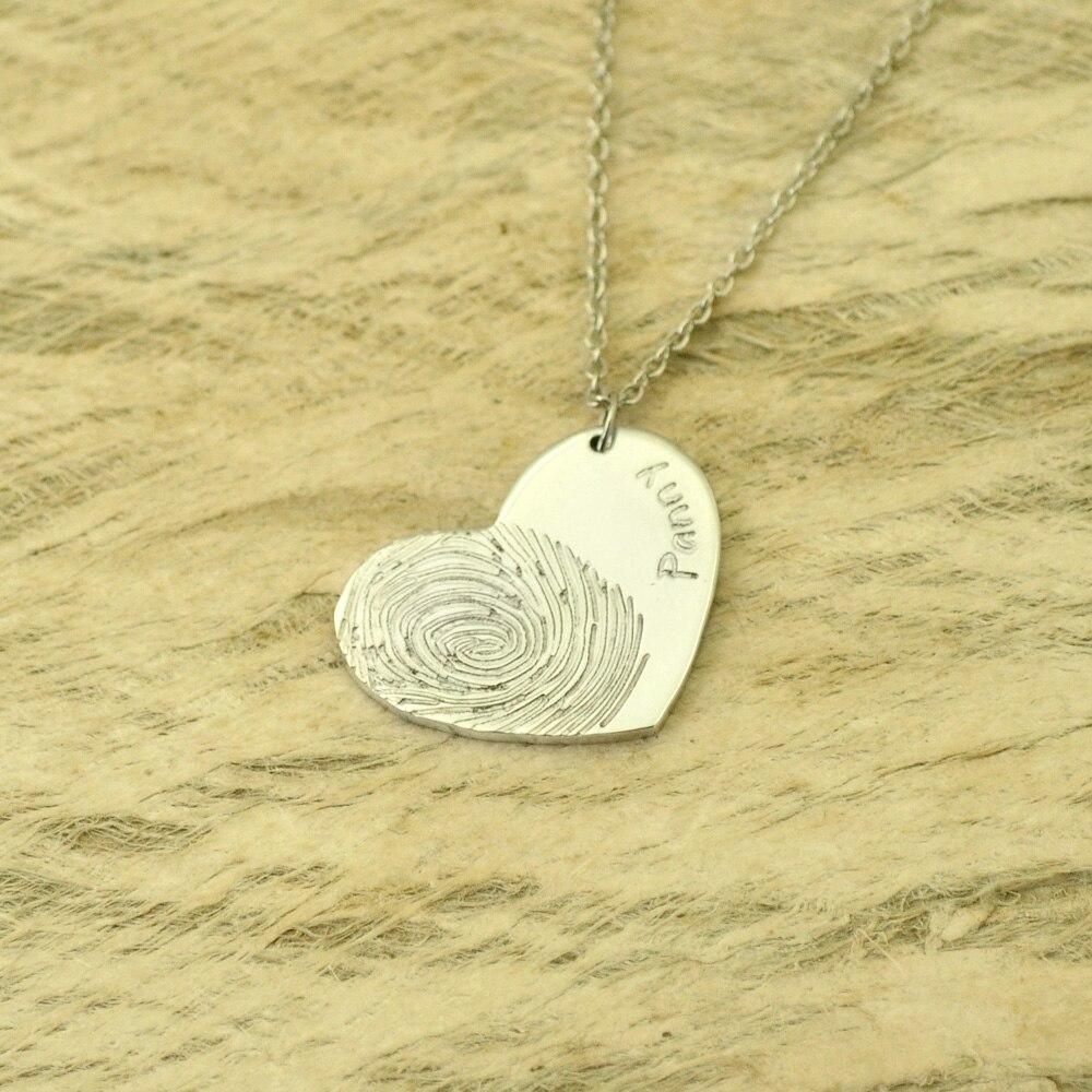 2fd78d611896 MloveAcc 925 amor corazón collares y colgantes lujo Simple collares para  las mujeres moda joyería Bijoux