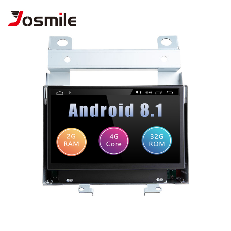 Josmile 2 Din Android 8.1 GPS Car Multimedia Player For Land Rover Freelander 2 2007 2008 2009 2010 2011 2012 Radio Stereo Wifi