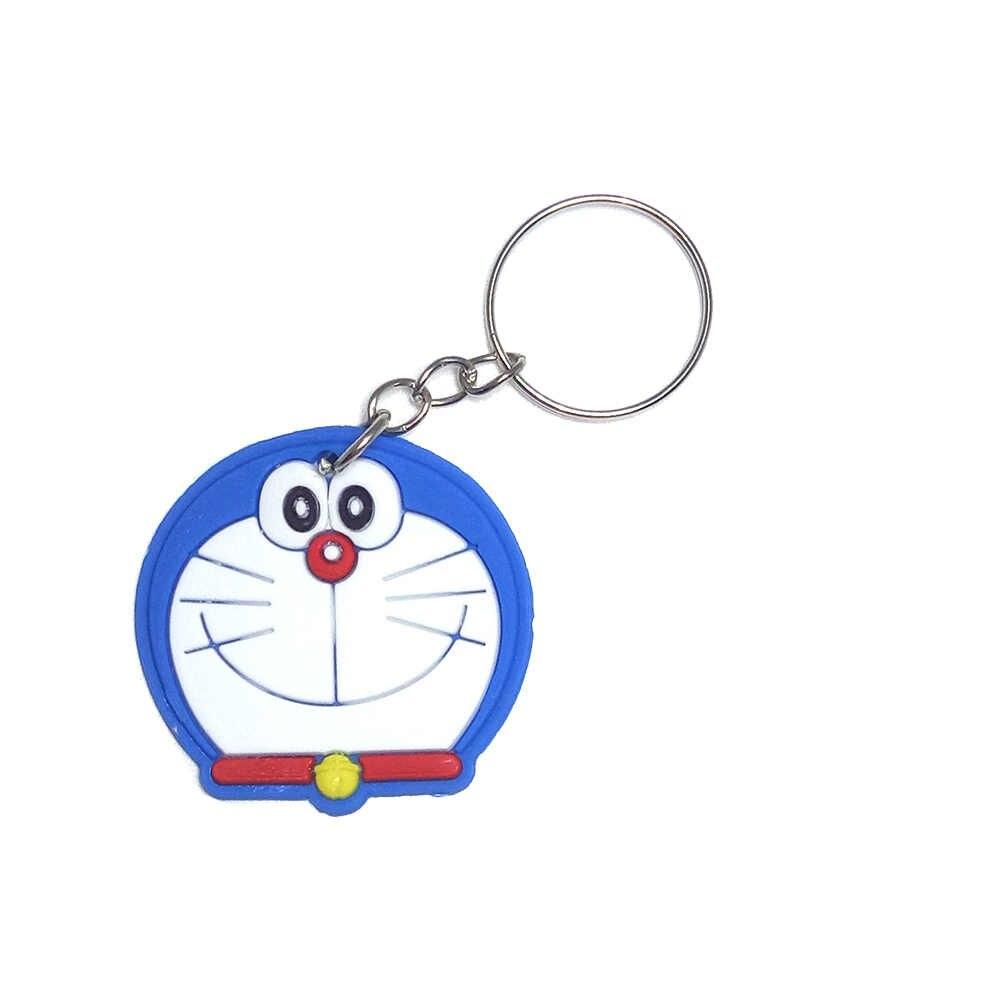 Anime Silicone Chaveiro llaveros Chaveiro Charme Saco anel Chave Titular porte ponto marvel clave llavero chaveiro