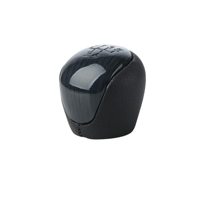 Car Styling 5 Speed Manual Gear Shift Knob Shifter Lever Pen Head for Kia Forte Soul FOR Hyundai Elantra I30