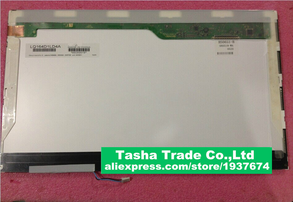 LP164WD1 TLA1 (TL)(A1) 16.4 LAPTOP LCD Screen GLOSSY For Sony Vaio PCG-81212M VGN-FW Series VPCF12F4E HD+ 1600*900 LP164WD1-TLA1