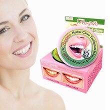 25 г зубная паста RASYAN травяная зубная Гвоздика порошок Отбеливание зубов здоровье красота Стоматологическая Уход за полостью рта Горячая Таиланд