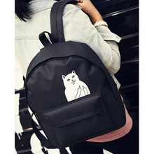 2016 New Women Backpack Mochila Backpack Ladies Shoulder Bags Teenage Girls School Backpack Female Animal Prints