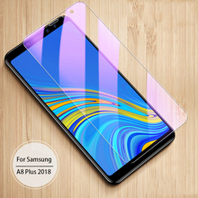 OriWood For Samsung Galaxy A6 A7 A8 2018 Plus Anti Blue HD Tempered Glass Anti-blue Screen Protector Film
